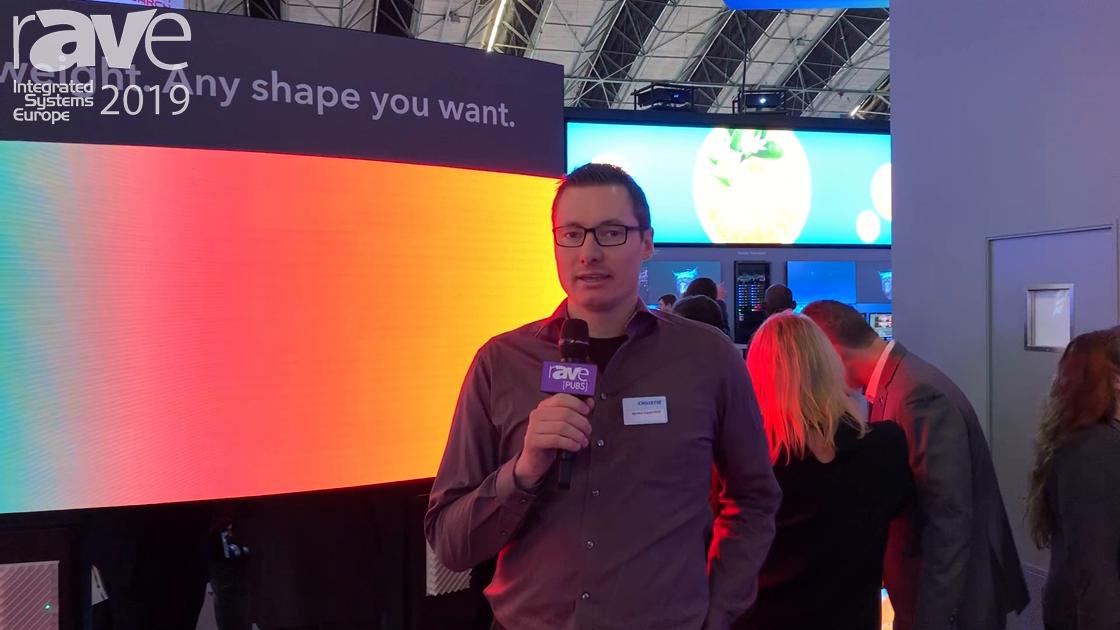 ISE 2019: Christie Demos How Pandoras Box Media Server Drives The New MicroTiles LED