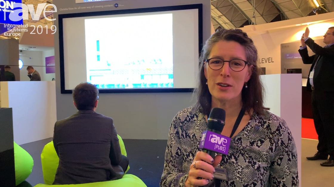 ISE 2019: Christie Demos Its View Technology for Showing Four Distinct Views