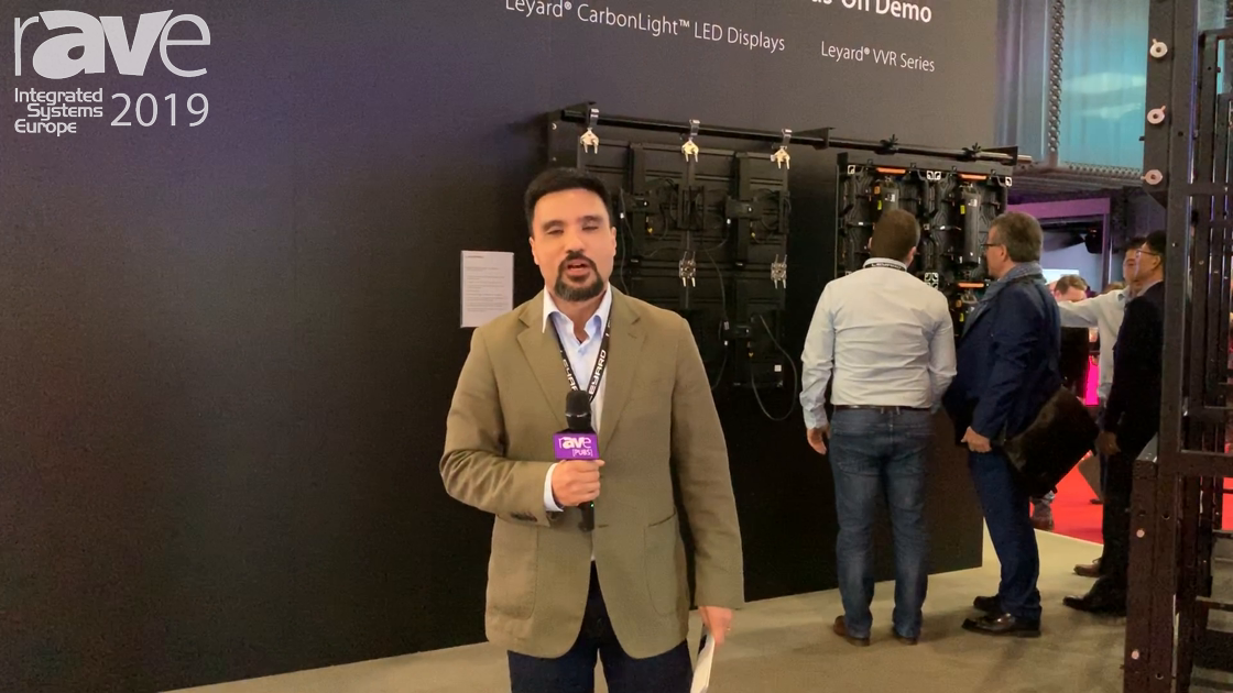 ISE 2019: Leyard Showcases VVR Rental and Staging LED Displays
