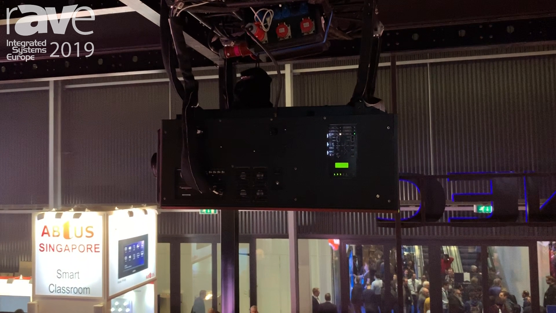 ISE 2019: NEC Display Talks About Its PH3501QL Red-Blue Laser Projector