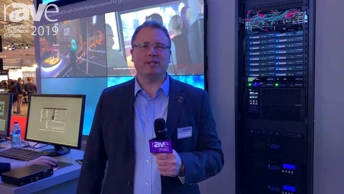 ISE 2019: Christie Exhibits the Terra SDVoE AV-over-IP Solution
