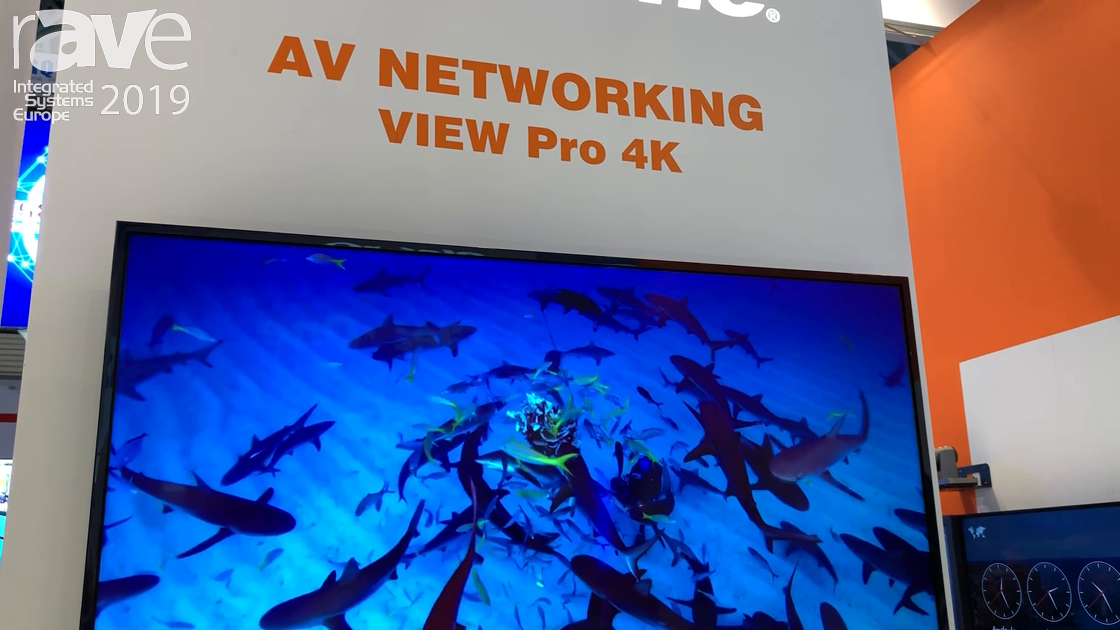 ISE 2019: ClearOne Exhibits Its View Pro 4K