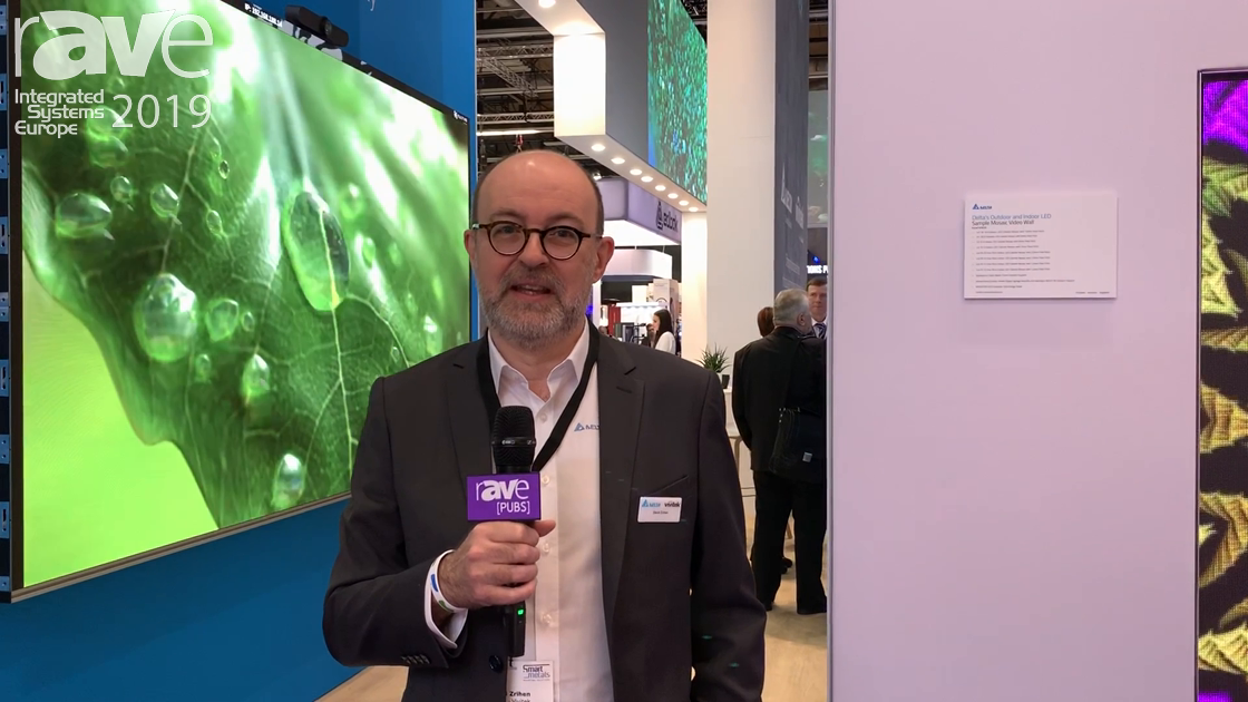 ISE 2019: Vivitek Talks About Delta Display Solutions, Including Indoor, Outdoor, Fine Pixel Pitch