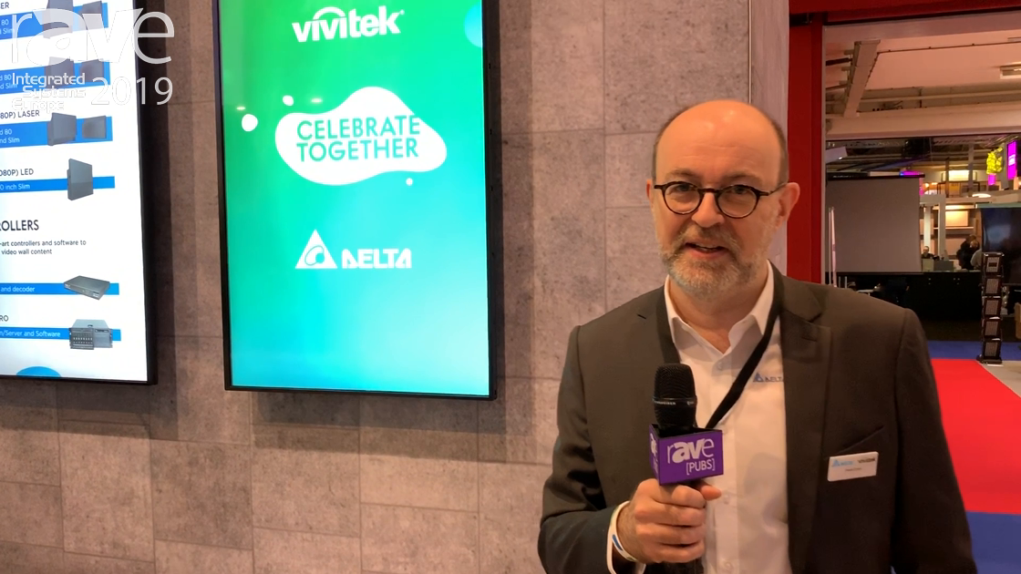ISE 2019: Vivitek Features NovoDisplay, an Integrated Digital Signage and Collaboration Display