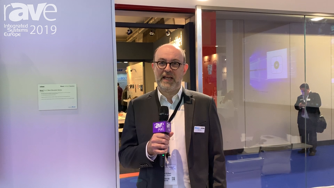 ISE 2019: Vivitek Demos the NovoProjector With Embedded NovoConnect Collaboration Software
