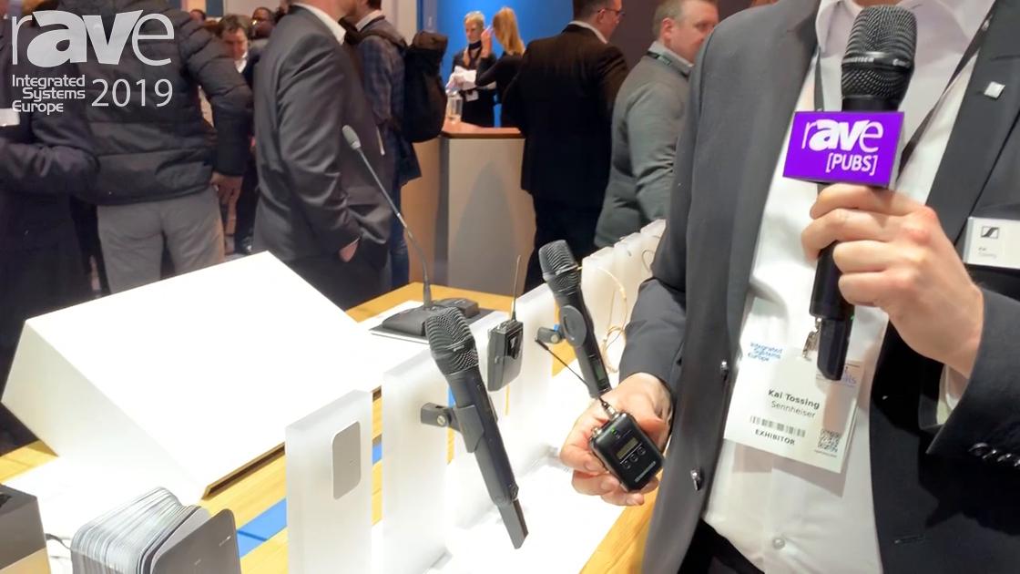 ISE 2019: Sennheiser Announces SK 6212 Lightweight Bodypack Transmitter