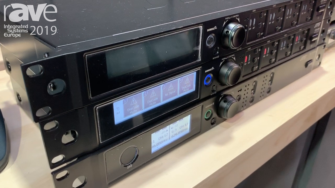 ISE 2019: JTS Showcases the CS-W4 Four-Channel Receiver