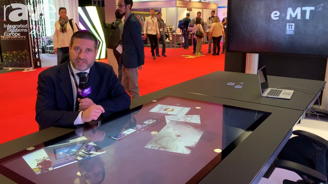 ISE 2019: TT Visual Design Presents T5 Table for Meeting Room and Collaboration Spaces