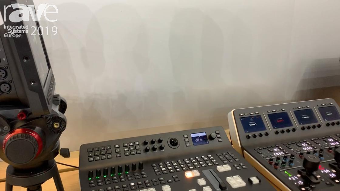 ISE 2019: Blackmagic Design Features the ATEM Television Studio Pro 4K