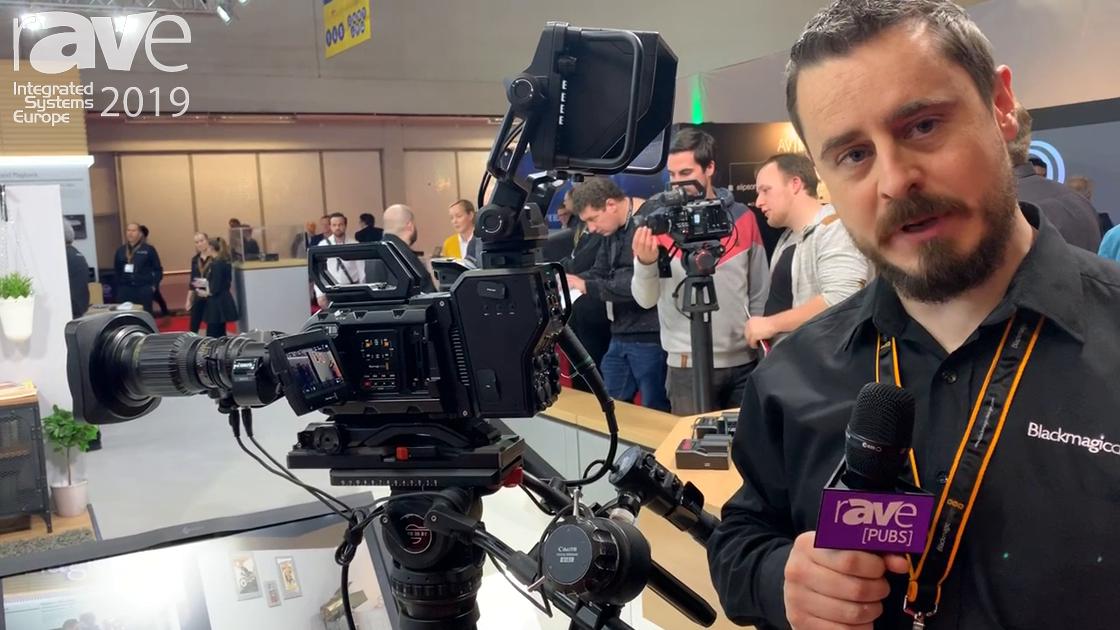 ISE 2019: Blackmagic Design Demos URSA Pro Camera