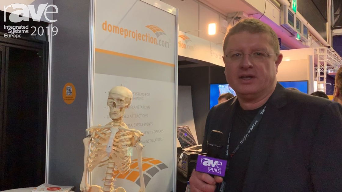 ISE 2019: domeprojection.com Explains Projection Mapping for Health Care Applications