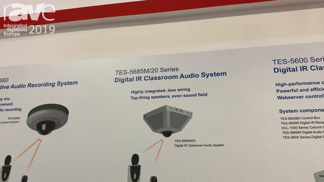 ISE 2019: Taiden Shows TES-5685M/20 Series Digital IR Class