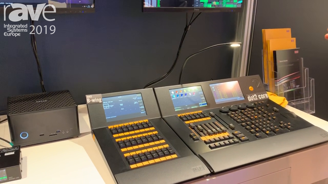 ISE 2019: MA Lighting Discusses dot2 Lighting Console