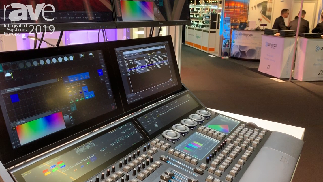 ISE 2019: MA Lighting Highlights GDTF File Type for Fixture Files