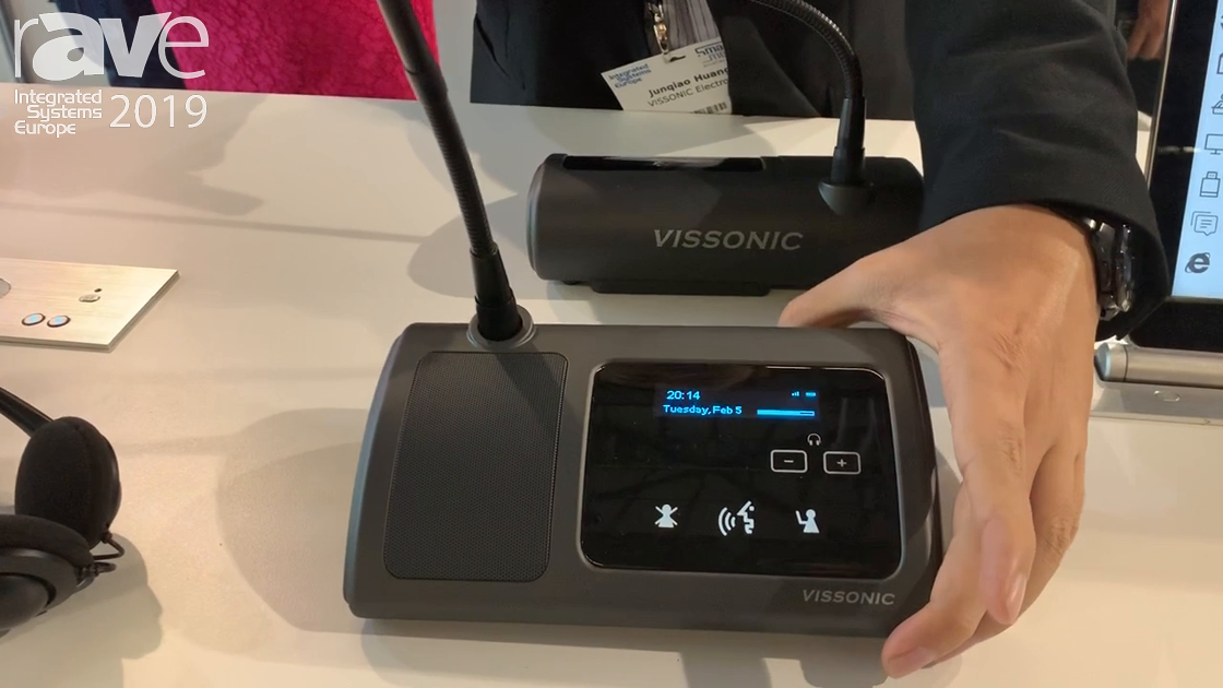 ISE 2019: Vissonic Electronics Showcases the 5G Wi-Fi Conference System