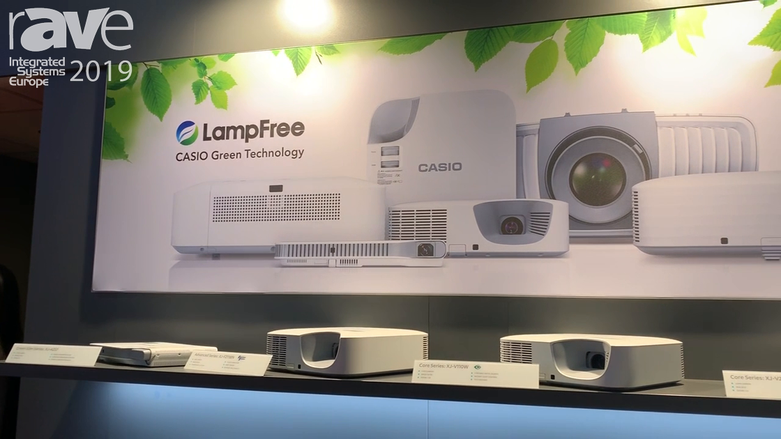 ISE 2019: Casio Offers Range of Lamp-Free Laser LED Hybrid Projectors