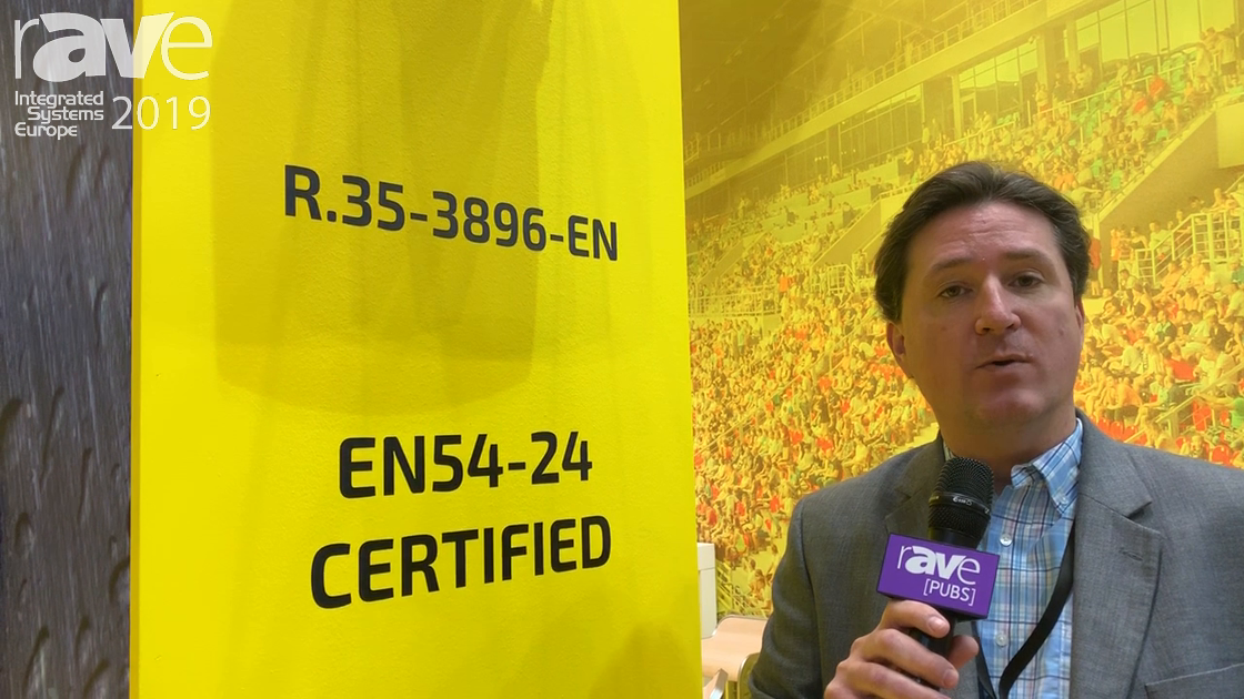 ISE 2019: Community Professional Loudspeakers Presents EN54-Certified R.35-3896-EN Speaker