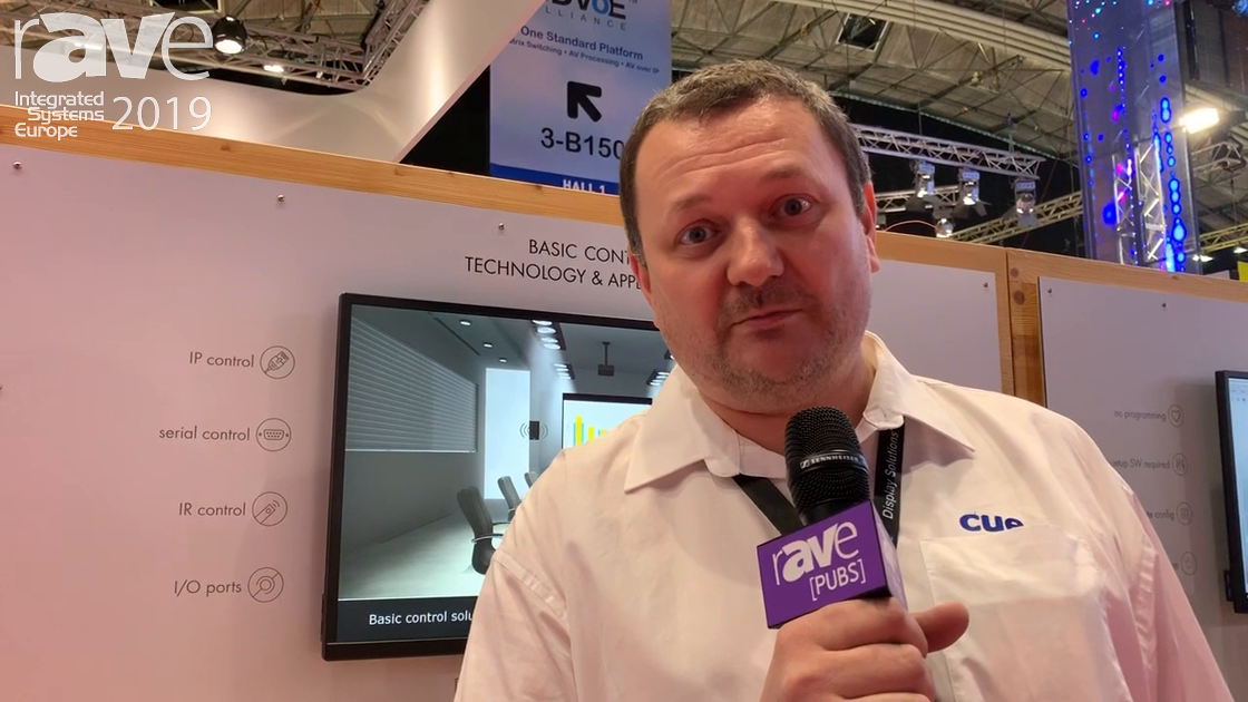 ISE 2019: Cue Features Its liteCUE Basic Control System