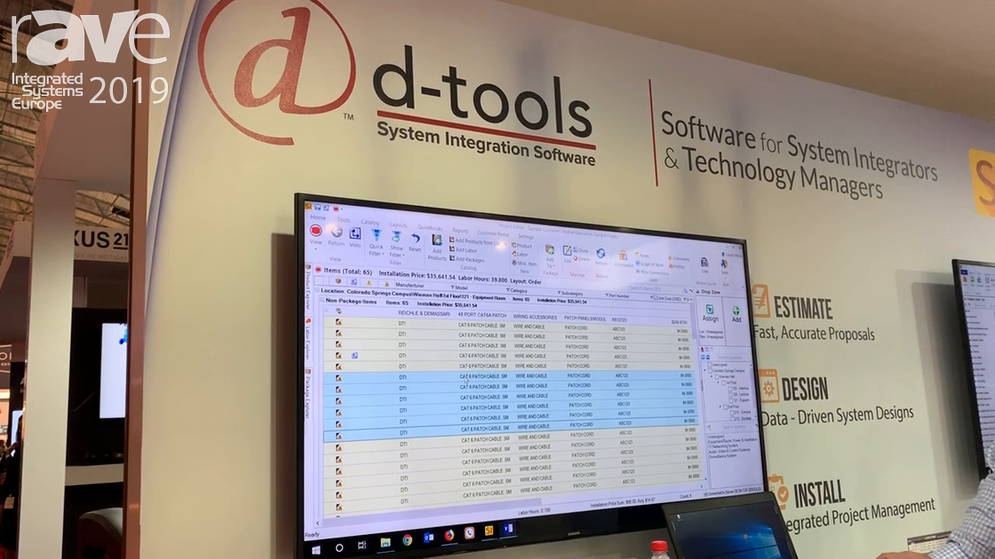 ISE 2019: D-Tools Highlights System Integrator, Version 12 Software, Now With Workflow Rules