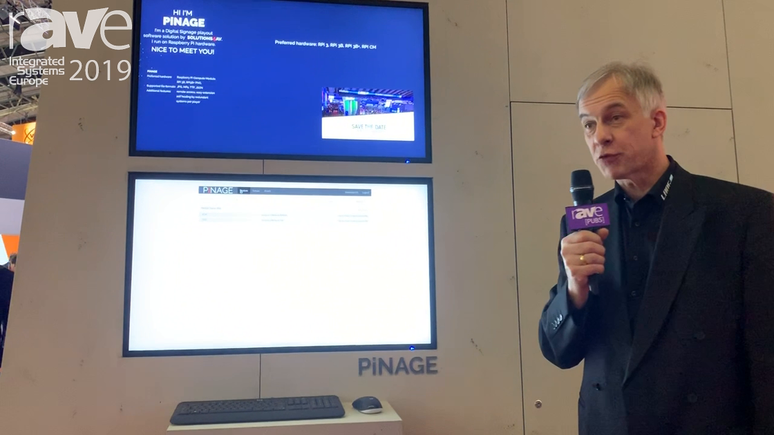 ISE 2019: LANG AG Demos PiNAGE Software for Digital Signage