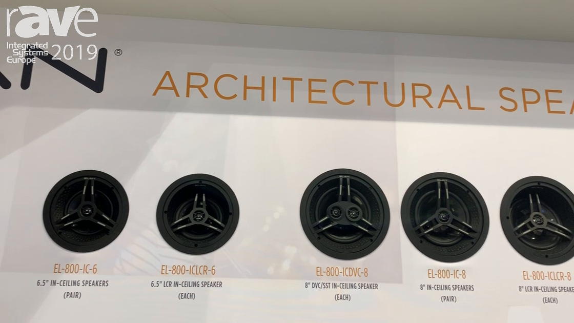 ISE 2019: ELAN Introduces Three New Series of Architectural Speakers – the 400, 600 and 800 Series