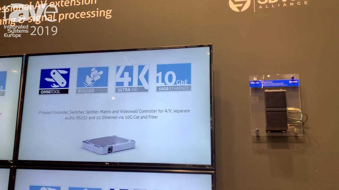ISE 2019: OneAV Discusses IPAV Pro Series With SDVoE Technology