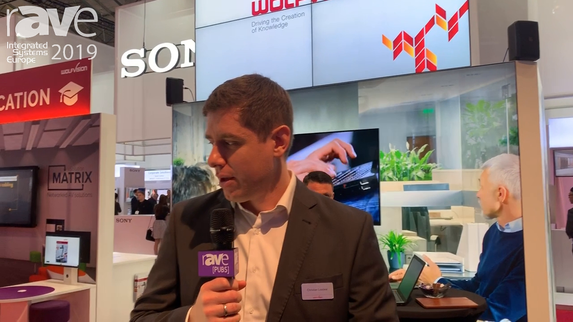 ISE 2019: WolfVision Debuts VZ-8.4K Visualizer