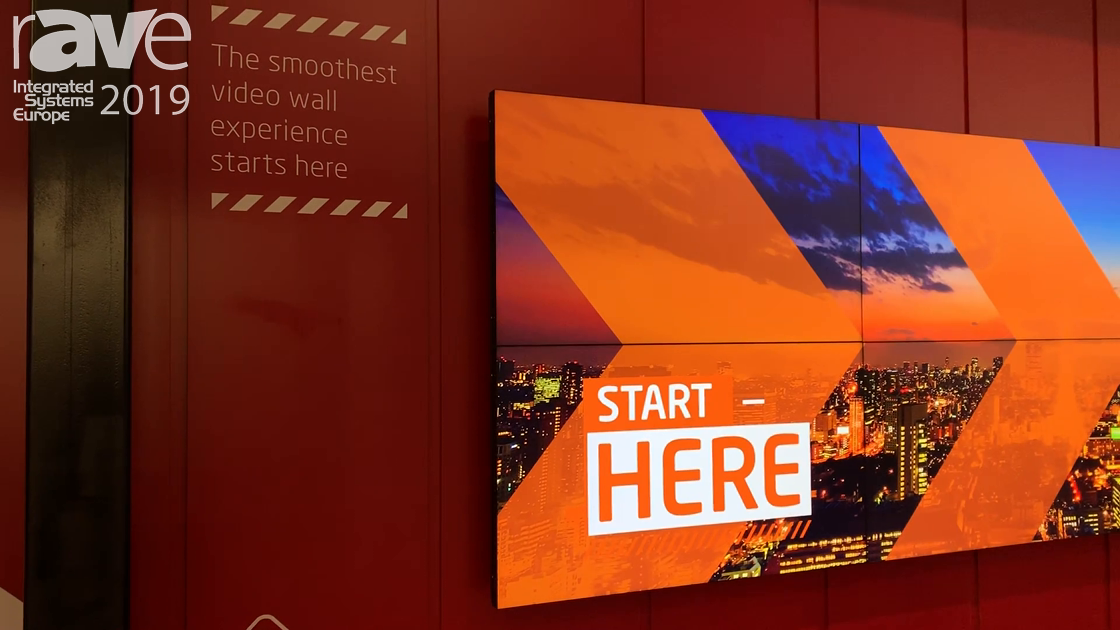 ISE 2019: NEC Display Shows Off New Video Wall Platform With SpectraView in 46″, 49″ and 55″ Sizes