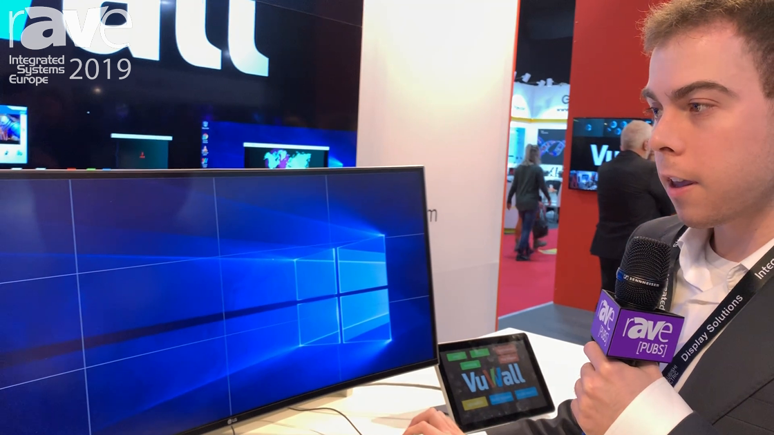 ISE 2019: VuWall Showcases the ViewStation Personal Video Wall Solution and Soft KVM