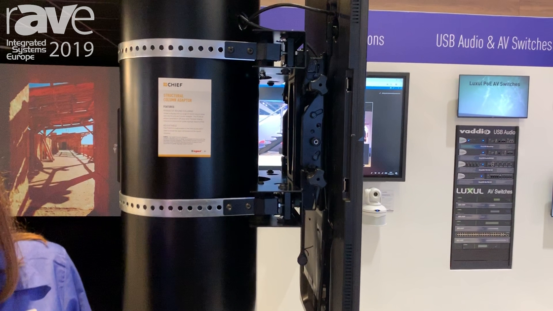 ISE 2019: Chief Showcases the Structural Column Adapter