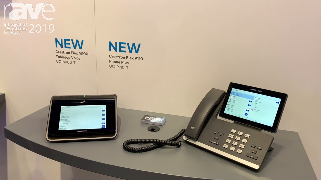 ISE 2019: Crestron Showcases Its Flex Phone and Video Solutions
