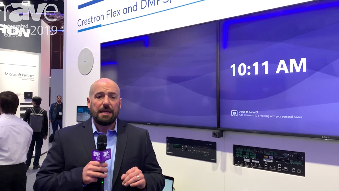 ISE 2019: Crestron Features Its Flex UC Portfolio