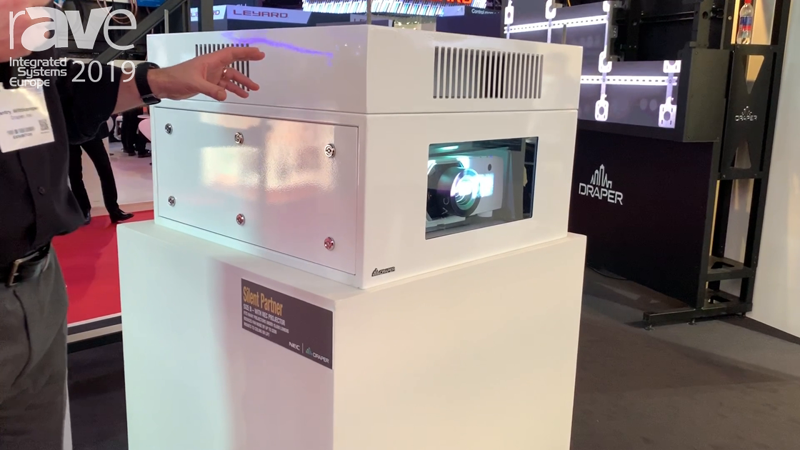 ISE 2019: Draper Shows the Silent Partner Projector Case