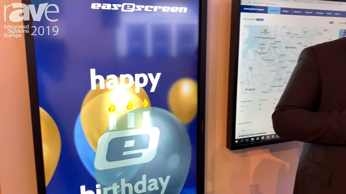 ISE 2019: Easescreen Has Wide Range of Digital Signage Solutions, Celebrates 20th Anniversary