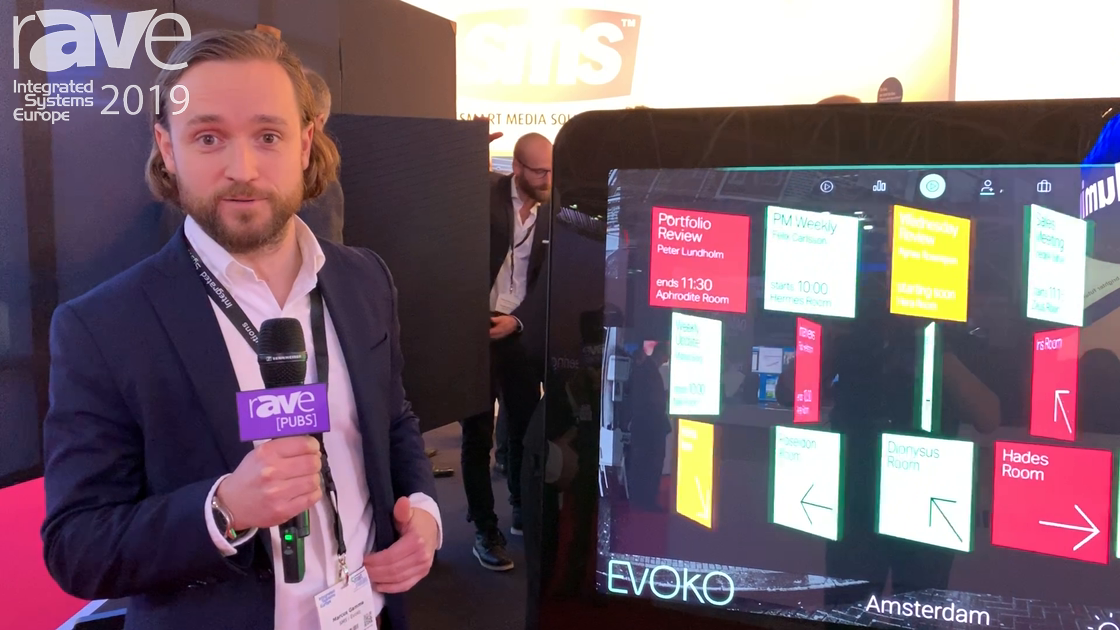 ISE 2019: Evoko Features the Pusco Complete All-in-One Public Space Communications Tool