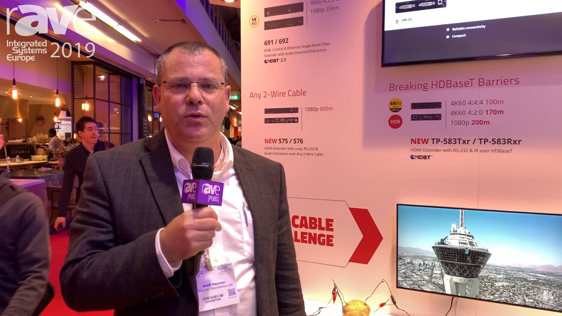 """ISE 2019: Kramer Features """"Extension Without Exception"""" Extenders"""