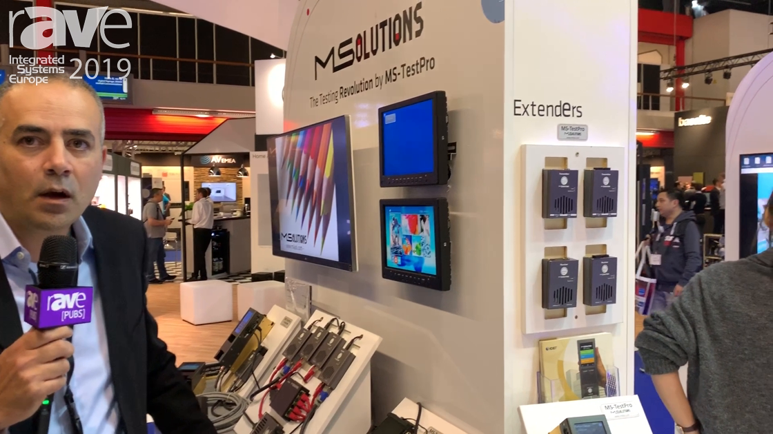 ISE 2019: MSolutions Features HDBaseT, HDR Extenders