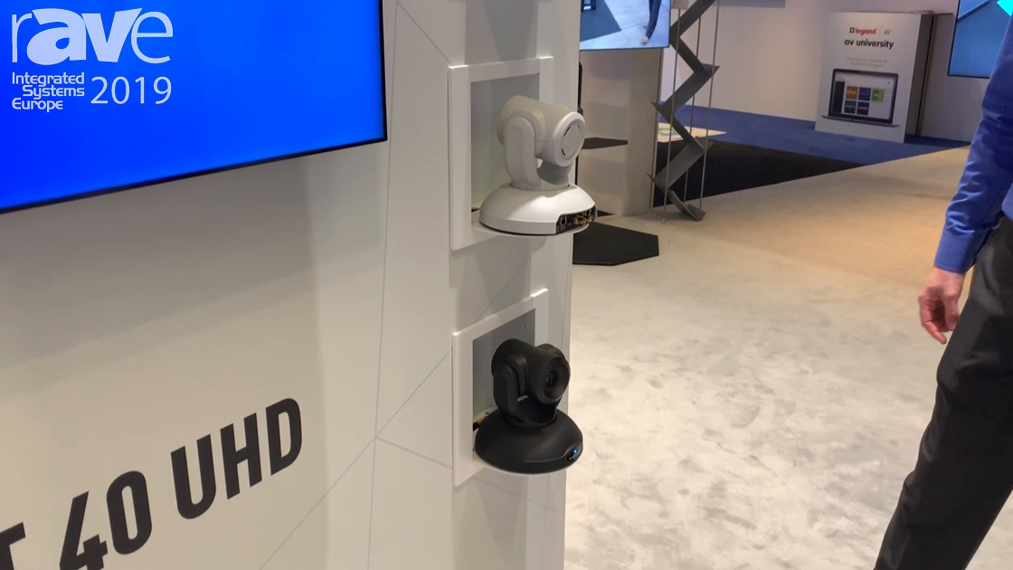ISE 2019: Vaddio Features the RoboSHOT 40 UHD