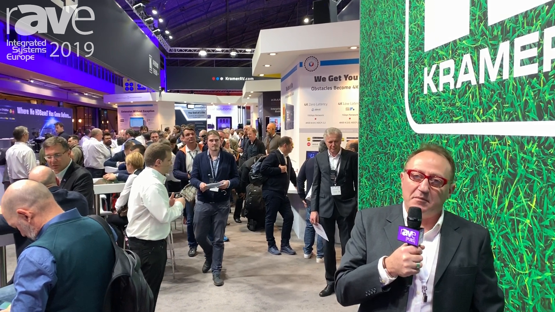 ISE 2019: Kramer Gives an Overview of Its ISE 2019 Stand