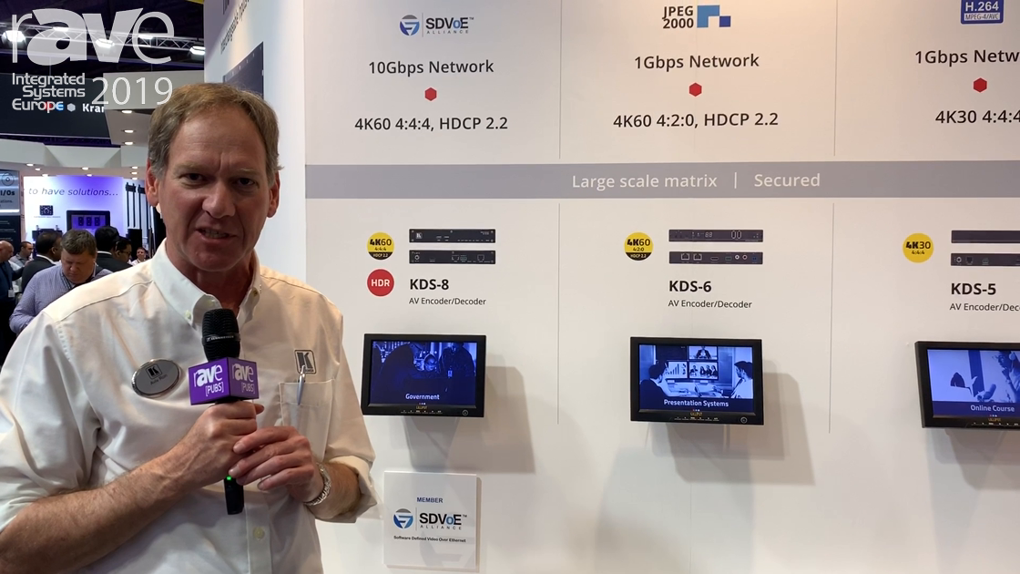 ISE 2019: Kramer Talks About AV Over IP Product Offerings