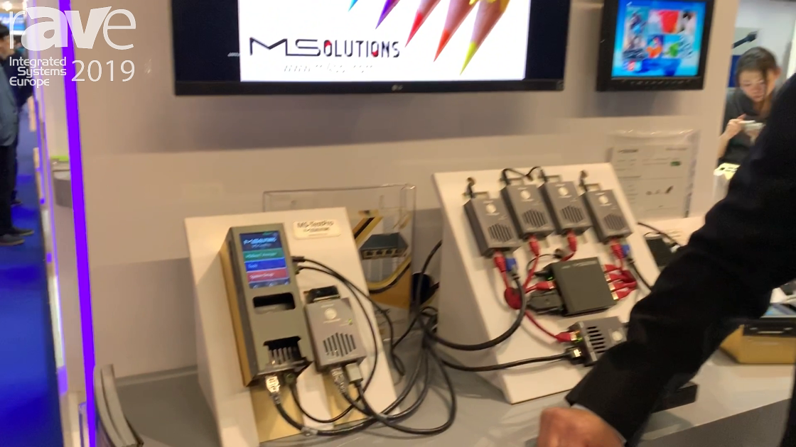 ISE 2019: MSolutions Showcases the MS-PRO HDBaseT Tester