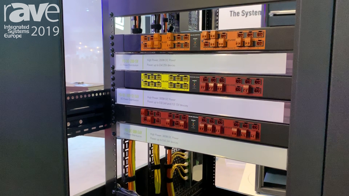 ISE 2019: Middle Atlantic Showcases PD DC Power Distribution