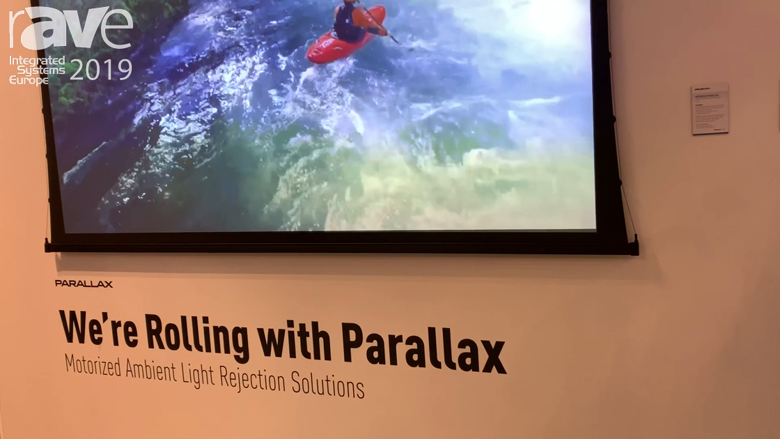 ISE 2019: Projecta & Da-Lite Talks About Parallax Materials