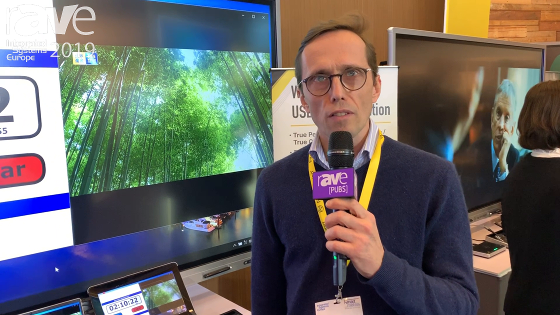 ISE 2019: NorthVision Demos the VisionShare Wireless Presentation System