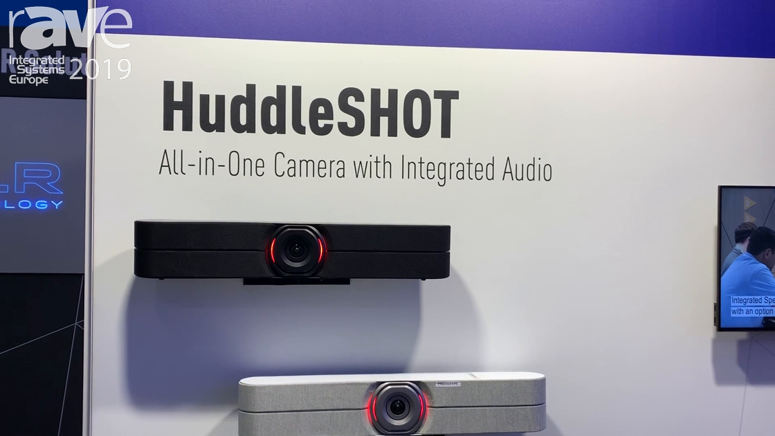 ISE 2019: Vaddio Demos the Huddleshot Video Conferencing System