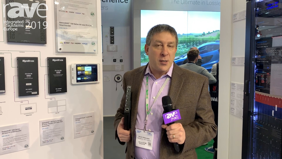 ISE 2019: Wyrestorm Features Its Network HD 100 & 200 Series H.264 Solutions