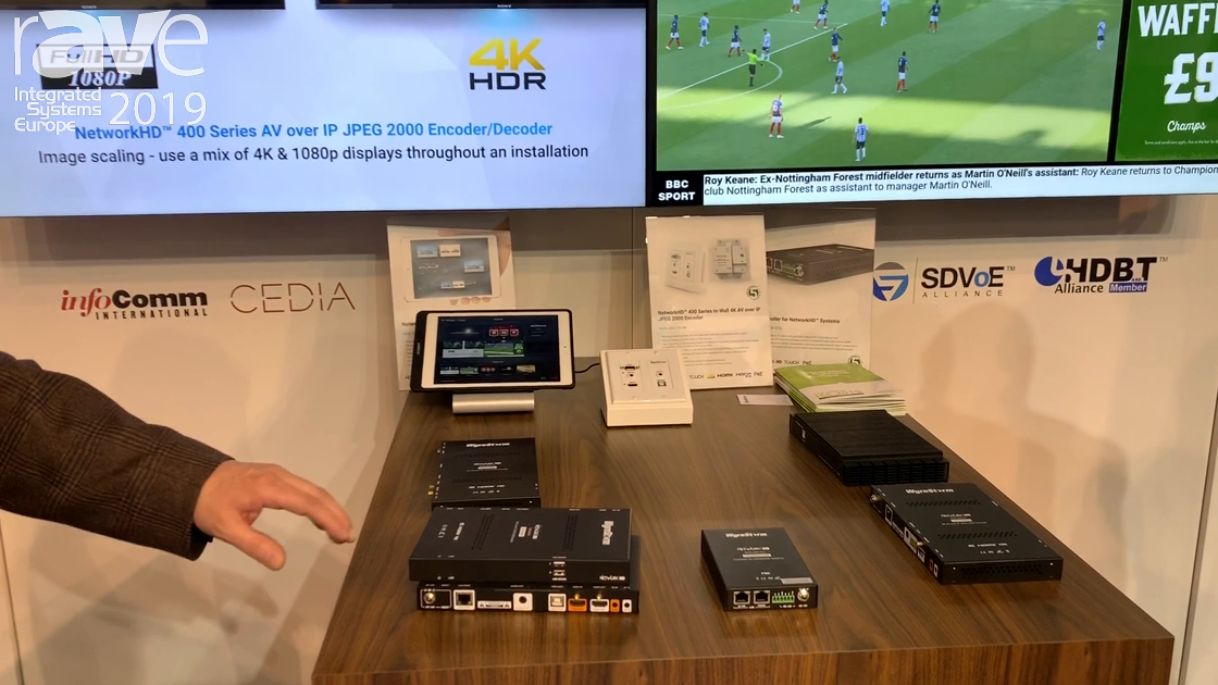 ISE 2019: Wyrestorm Showcases the Network HD 400 Product Line