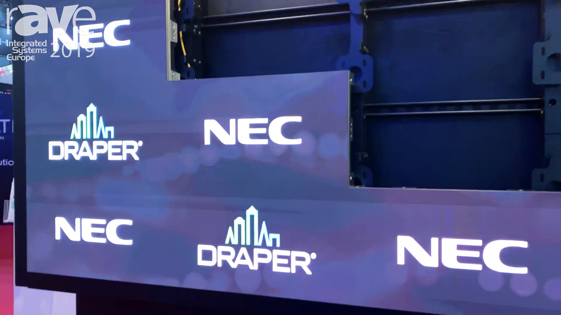 ISE 2019: Draper Shows Off Its Custom Solutions With a Tailored LED Structure