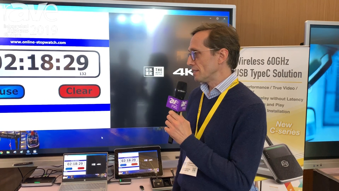 ISE 2019: Northvision Demonstrates Its Zero Latency Video Streaming