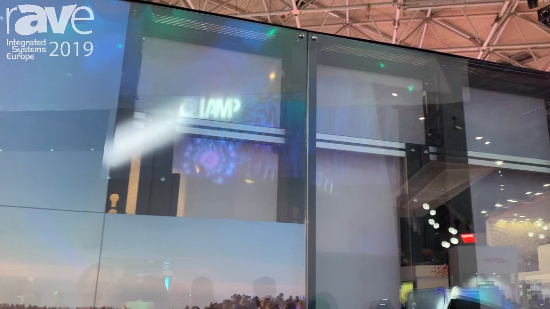 ISE 2019: SMS Features Its LED Concept Stand